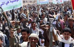 Yemen biểu tình phản đối vụ không kích của Saudi Arabia