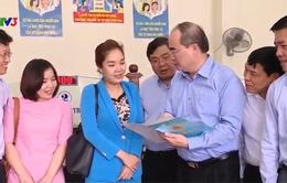 Chủ tịch Nguyễn Thiện Nhân làm việc với UBND TP Cần Thơ