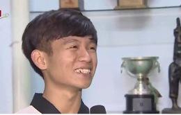 Tết ấm áp của nhà vô địch Taekwondo tí hon