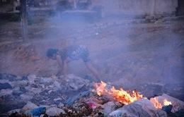 Giảm thiểu ô nhiễm do đốt chất thải ngoài trời
