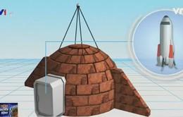 Lần đầu ra mắt thiết kế nhà trên sao Hỏa