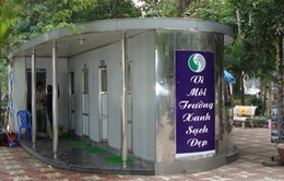 Hà Nội lắp đặt thêm nhiều nhà vệ sinh công cộng