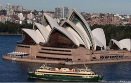 Australia chi 153 triệu USD để trùng tu nhà hát Opera Sydney
