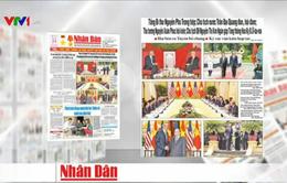 Báo chí trong nước đồng loạt đưa tin chuyến thăm Việt Nam của Tổng thống Obama