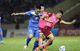 V.League 2016, Sài Gòn FC 0-0 Than Quảng Ninh: Chia điểm nhạt nhoà!