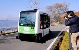 Nhật Bản lần đầu thử nghiệm xe bus không người lái