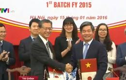 Nhật Bản cam kết hỗ trợ ODA 57.000 tỉ đồng cho Việt Nam