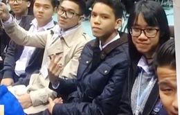 """Học sinh Việt Nam dự """"Ngày thế giới nhận thức về sóng thần"""" tại Nhật"""
