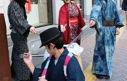 Nhật Bản: Nhặt rác theo phong cách Samurai
