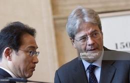 Italy và Nhật Bản nhất trí tăng cường hợp tác an ninh