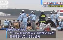 34 học sinh Nhật gặp vấn đề sức khỏe trên chuyến bay của Vietnam Airlines