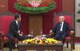 Tổng Bí thư tiếp Đại sứ Nhật Bản