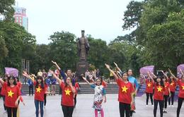 Giới trẻ Hà Nội cùng nhau nhảy vì một Việt Nam khỏe mạnh hơn