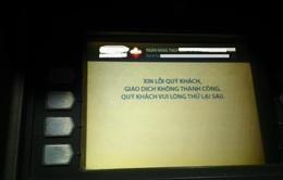 """Nhiều cây ATM ở Hà Nội """"nghỉ Tết sớm"""""""