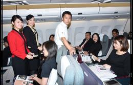 Tạ Đình Phong mang show thực tế lên máy bay