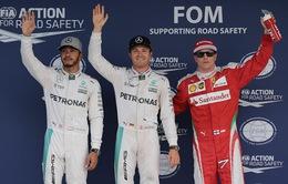GP Nhật Bản: Nico Rosberg về nhất buổi đua phân hạng
