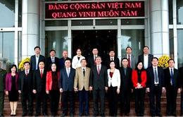 Thường trực Ban Bí thư chúc Tết tại Ninh Bình