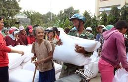Gần 3.000 tấn gạo cho dân vùng hạn Ninh Thuận