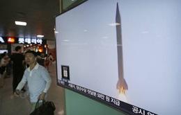 Tên lửa Triều Tiên rơi trong vùng đặc quyền kinh tế của Nhật Bản