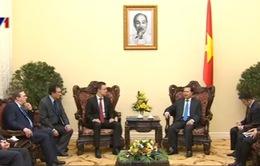 PTTg Vũ Văn Ninh tiếp Bộ trưởng Ngoại giao và Thương mại Hungary