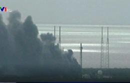 Tên lửa đẩy Falcon 9 phát nổ ngay khi rời bệ phóng