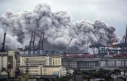Nổ hóa chất tại cảng lớn nhất Brazil, khí độc lan khắp Santos