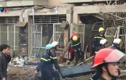 VIDEO: Cận cảnh hiện trường vụ nổ lớn tại khu đô thị Văn Phú, Hà Đông