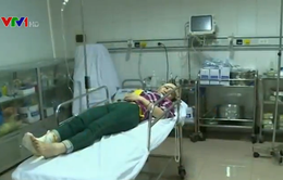 Nổ kinh hoàng tại nhà máy gỗ ở Nghệ An, 12 người nhập viện