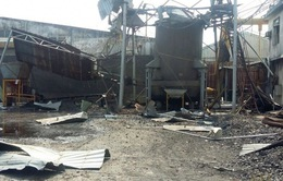Bình Dương: Nổ lò hơi công ty gạch men, 2 người tử vong tại chỗ