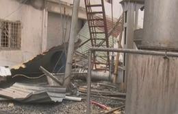 Vụ nổ lò hơi tại Bình Dương: Khu nhà chứa bị sập hoàn toàn