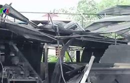 Thái Nguyên: Nổ lò hơi khiến 2 người thiệt mạng