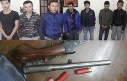 Thanh Hóa: Tạm giữ 7 đối tượng giết người bằng súng tự chế