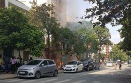 Hà Nội: Nổ trạm biến áp tại Hà Đông, 5 người bị bỏng