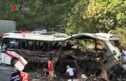 Nổ xe khách tại Lào: Nạn nhân thứ 9 tử vong tại bệnh viện