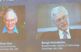 Giải Nobel Kinh tế 2016 thuộc về 2 nhà kinh tế học ở Mỹ