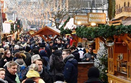 Chợ Giáng sinh ở Berlin, Đức mở cửa trở lại