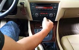 """""""Mẹo nhỏ"""" lái xe số tự động an toàn"""