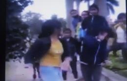 Nghệ An: Điều tra vụ nữ sinh đánh bạn rồi tung clip lên mạng