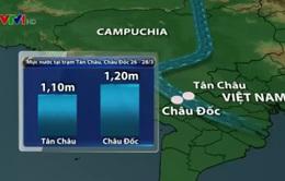Trung Quốc tiến hành xả nước hồ chứa thủy điện về phía hạ du sông Mekong
