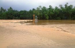 Mực nước các sông tại Khánh Hòa có thể lên lại