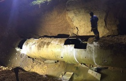 Nghiêm túc khắc phục sự cố vỡ đường ống nước Sông Đà