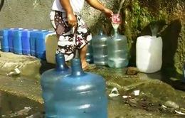 Khan hiếm nước sạch nghiêm trọng tại Venezuela