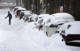 Bão tuyết lịch sử tấn công bờ Đông nước Mỹ