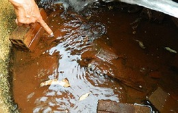 Hàm lượng Amoni trong nước ngầm tại TP.HCM vượt ngưỡng 9%