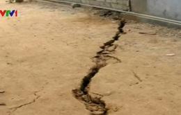 Tái diễn tình trạng sụt lún đất và mất nước ở Thái Nguyên