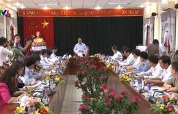 PTTg Nguyễn Xuân Phúc kiểm tra công tác chuẩn bị bầu cử tại Điện Biên