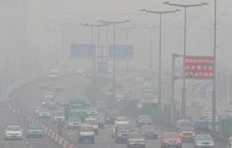 Lớp không khí ô nhiễm che phủ 1,4 triệu m2 tại Trung Quốc