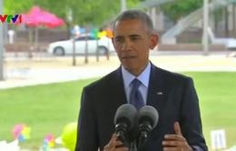 Tổng thống Mỹ Obama gặp gia đình các nạn nhân vụ xả súng