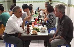 Hình ảnh Tổng thống Mỹ Obama ăn bún chả sẽ tràn ngập trên CNN