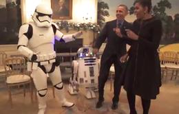 Vợ chồng Tổng thống Obama tham gia ngày lễ Star Wars